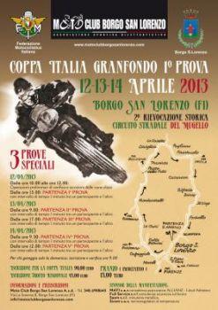 Gara di Granfondo del Mugello valevole per la Coppa Italia Granfondo edizione 2013