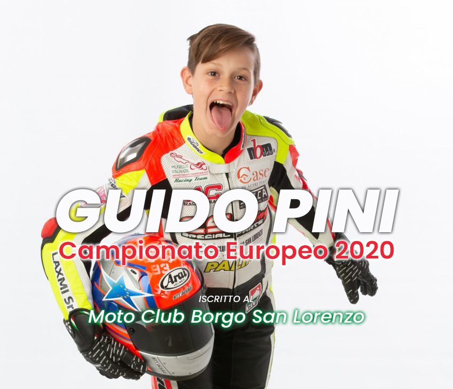 Guido Pini - giovanissimo pilota mugellano